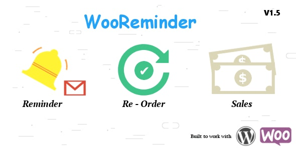 Order again Reminder for WooCommerce